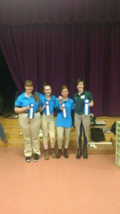 April 1 may have been April Fools Day, but it is no joke that it was a winning weekend for our Irish Manor students!